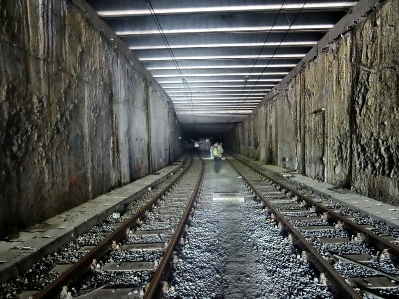 DSC00718 Charleroi - Metro abandonné