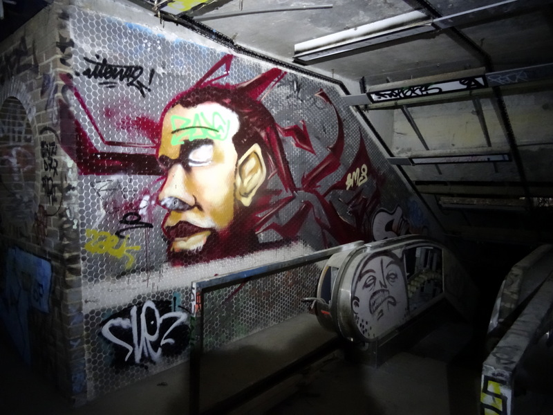 DSC00733 Charleroi - Metro abandonné