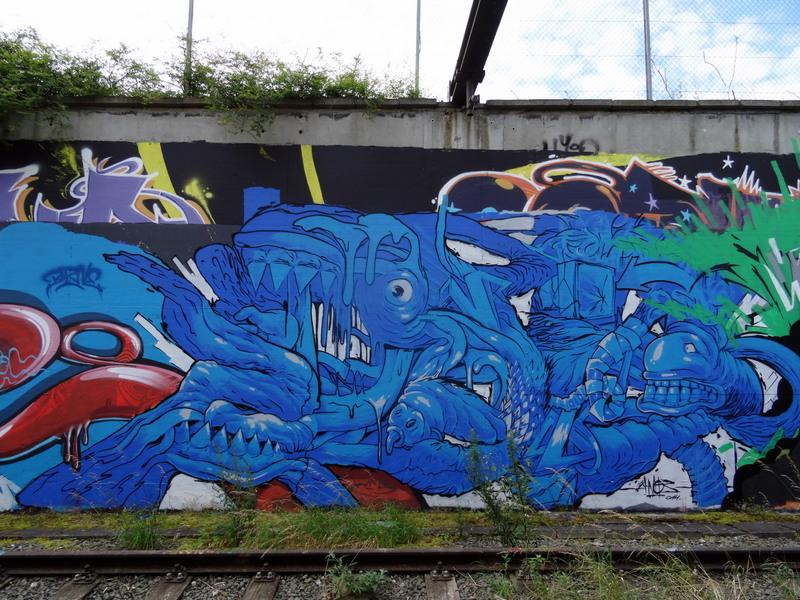 DSC00740 Charleroi - Metro abandonné