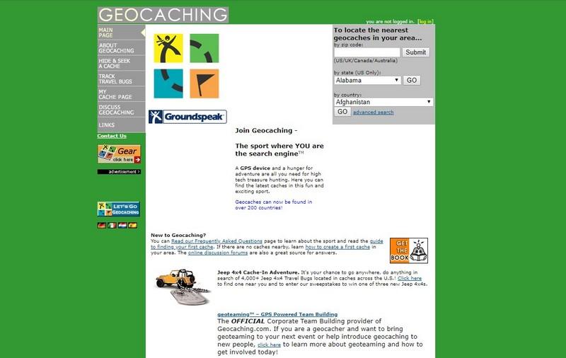 Geocaching2004
